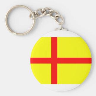 Kalmar Union Basic Round Button Keychain