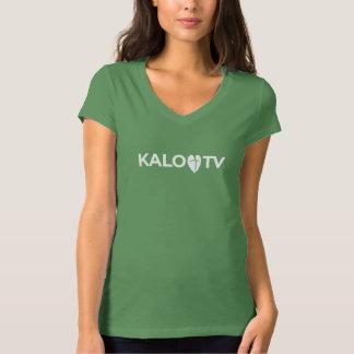KALO TV - T-Shirt Green