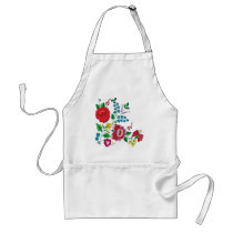 Kalocsa Embroidery Adult Apron