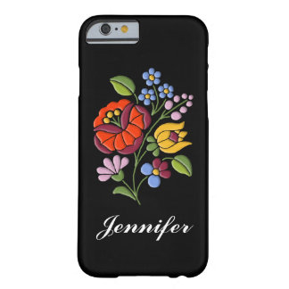 Kalocsa Embroidery - Hungarian Folk Art Barely There iPhone 6 Case