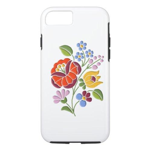 Kalocsa Embroidery - Hungarian Folk Art Phone Case