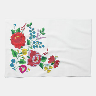 Kalocsa Embroidery Kitchen Towels
