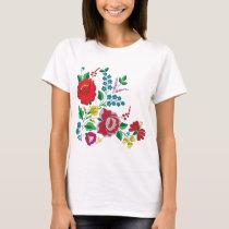Kalocsa Embroidery T-Shirt