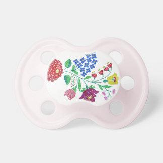 Kalocsai Flower Stem2 Pacifier