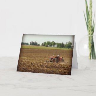 Kalona, Iowa Field Work, Father's Day Greeting Cards