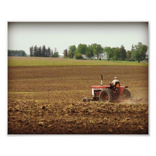 Kalona, Iowa Field Work Photo Print