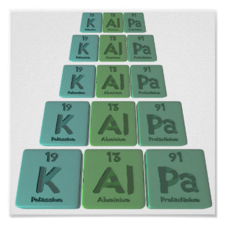 Kalpa-K-Al-Pa-Potassium-Aluminium-Protactinium.png Posters