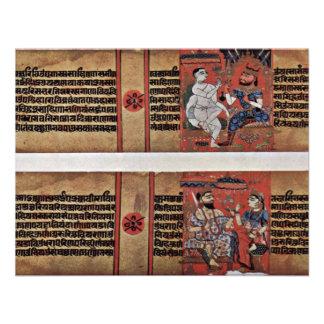 Kalpasã Tra y manuscrito de Kâlakâchârya Katha Comunicado