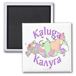 Kaluga Russia 2 Inch Square Magnet