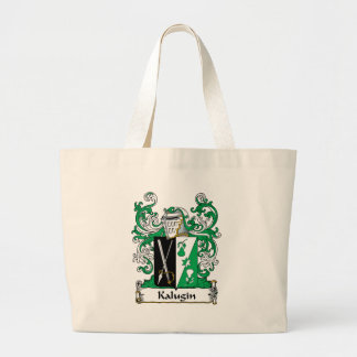 Kalugin Family Crest Canvas Bags