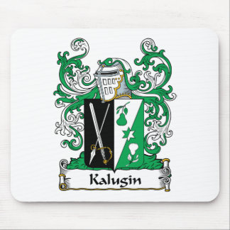 Kalugin Family Crest Mouse Pad