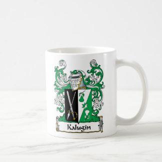 Kalugin Family Crest Coffee Mug