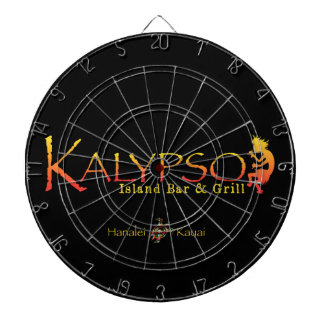 Kalypso Colorful Logo With Rainbow Sea Turtle Dart Board