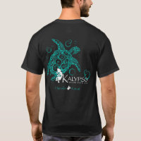 Kalypso Hawaiian Islands Front Sea Turtle Back T-Shirt