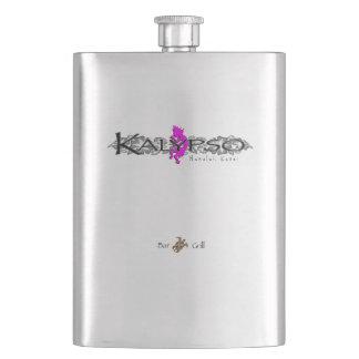 Kalypso Kane Island Floral Hip Flask