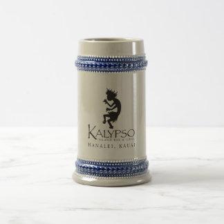 Kalypso Kane Logo in Black Beer Stein