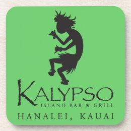 Kalypso Kane Logo in Black Coaster