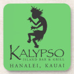 Kalypso Kane Logo in Black Coasters