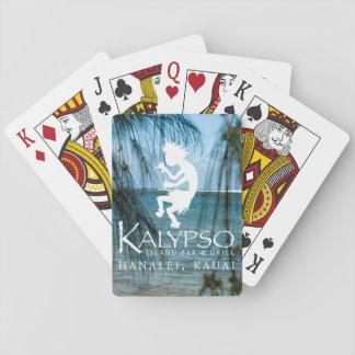 Kalypso Kane Logo in White Deck Of Cards
