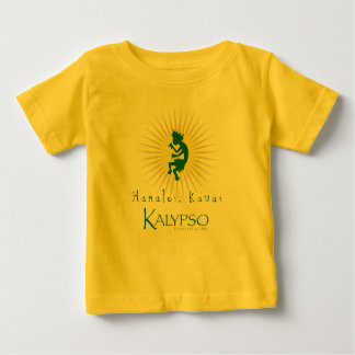 Kalypso Kane Yellow Sunburst Baby T-Shirt
