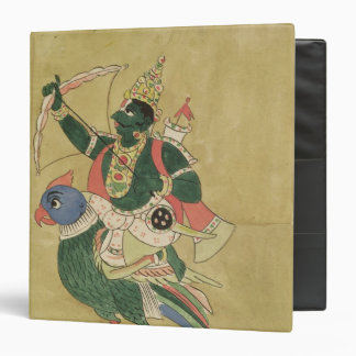 Kama, God of Love, 18th-19th century 3 Ring Binder