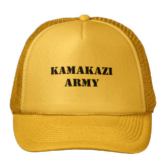 KAMAKAZI ARMY TRUCKER HAT