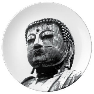 Kamakura Daibutsu (Buda grande) Plato De Cerámica