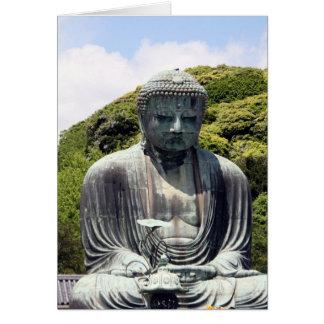 kamakura great buddha card