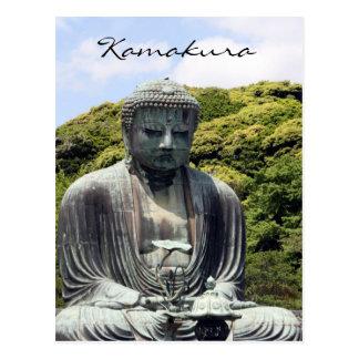 kamakura kotokuin buddha postcard