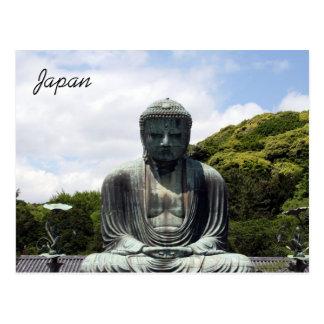 kamakura que sienta a Buda Postales
