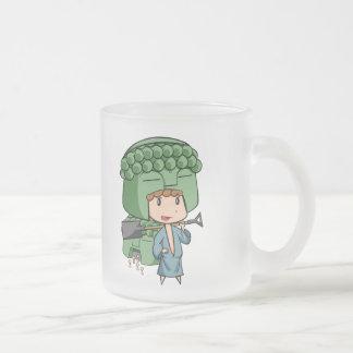 Kamakura type DB2 涅 槃 type reforming English story Frosted Glass Coffee Mug