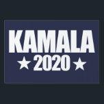 "Kamala 2020 Election 2020 democrat Kamala Harris Lawn Sign<br><div class=""desc"">Kamala 2020 Election 2020 democrat Kamala Harris   2020 vote &quot;kamala 2020&quot; &quot;harris 2020&quot;</div>"