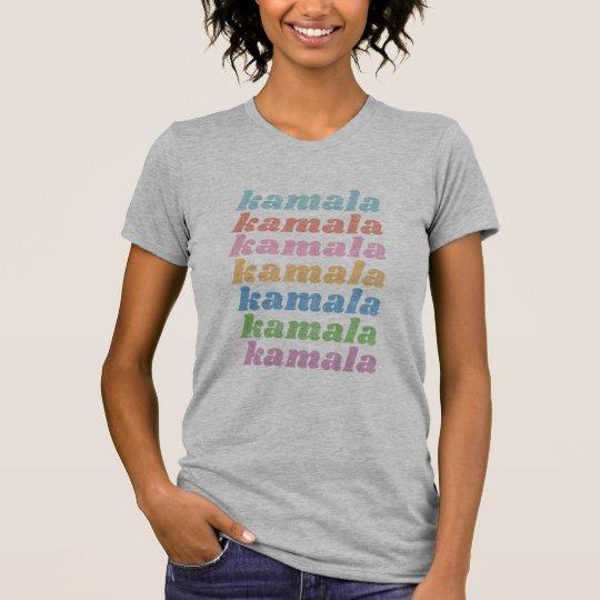 Kamala Harris 2020 Retro Vintage Pastel Typography T-Shirt