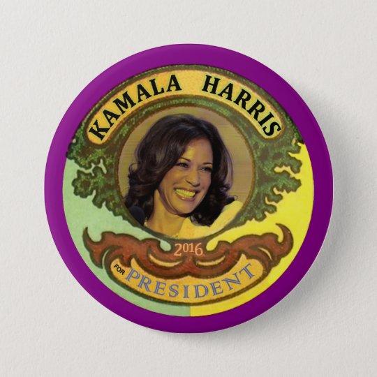 Kamala Harris for President 2016 Button