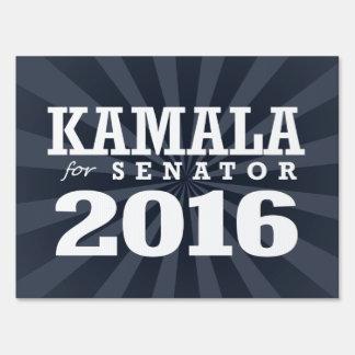 Kamala Harris for Senator Lawn Sign