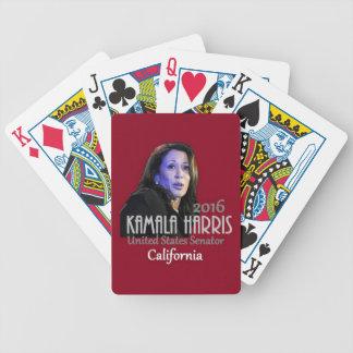 Kamala Harris Senate 2016 Bicycle Playing Cards