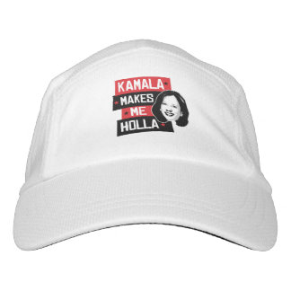 Kamala Makes Me Holla - Headsweats Hat