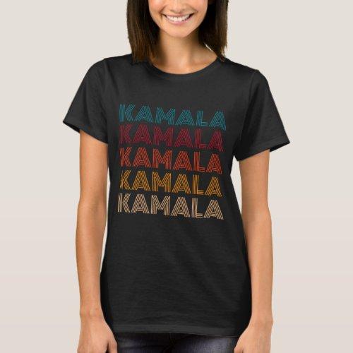 Kamala Retro Vintage Style T_Shirt