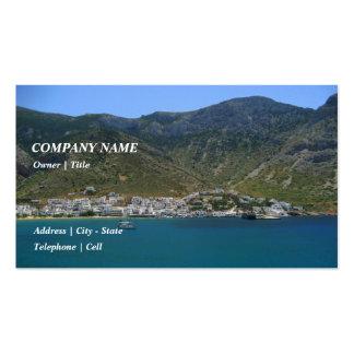 Kamares – Sifnos Business Card Template