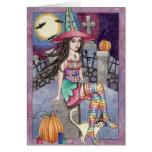 Kamaria - tarjeta de la bruja del arco iris
