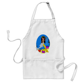 Kamaria the Mermaid with Dolphin Apron