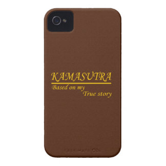 Kamasutra basó en mi historia verdadera iPhone 4 Case-Mate protectores