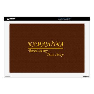 Kamasutra basó en mi historia verdadera portátil calcomanía