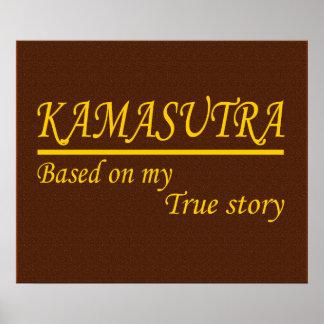 Kamasutra basó en mi historia verdadera - poster