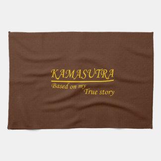 Kamasutra basó en mi historia verdadera toallas de cocina