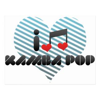 Kamba Pop fan Postcard