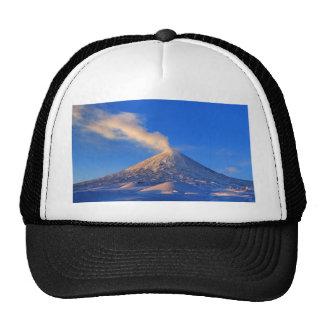 Kamchatka active Klyuchevskoy Volcano at sunrise Trucker Hat