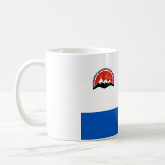 kamchatka flag russia country republic region coffee mug