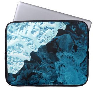 Kamchatka Peninsula Satellite Laptop Computer Sleeve