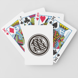 Kame Bicycle Playing Cards